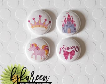 "Badge 1 ""- Princess"