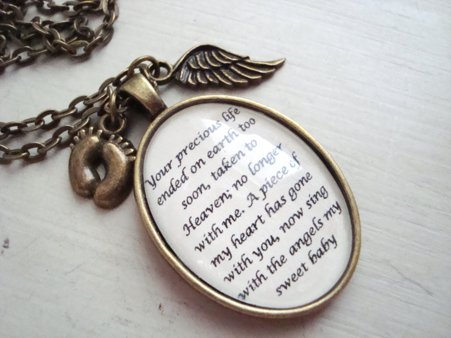filled angel cydesignstudio nec gift wing her for fullxfull il personalized miscarriage loss necklace gold products memorial