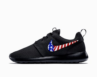 e5c01398cec5 ... discount nike roshe run black white american flag red white and blue  america abstract 02177 9be1c ...