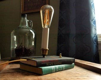Stack of Books Table Lamp - Black Spring