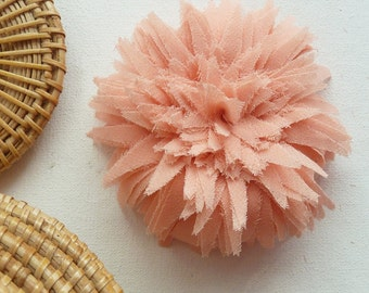 Fabric Flower Tutorial & Headband Spring Trendy  - PDF sewing pattern - make hair bands, bridal flower garter - INSTANT download