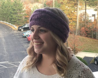 Cable Knit Winter Headband Ear Warmer