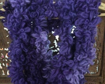 Purple and Lavender Infinity Scarf