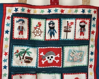 Pirate Pocket Panel - Wall Hanging