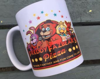 Freddy Frazbear Five nights at freddys mug gift idea game
