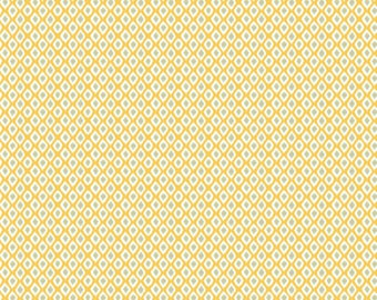 Dena Designs Bohemia PWDF278 Deja Saffron Cotton Fabric By Yard