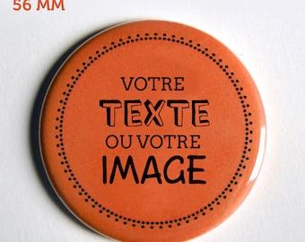 1 large magnet Fridge Magnet / / / text Message, image, patterns, colors customizable