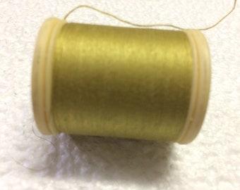 Thread DMC 100% cotton yellow 833
