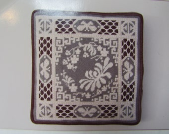 "Vintage Needlepoint Pattern: ""Imperial Chrisanthemum"" by Joan D. Gantt"