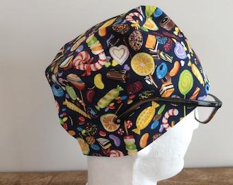 CANDYLAND! Scrub Hat / Surgical Cap