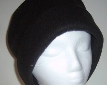 Black Fleece Hat