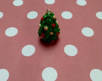 Polymer Clay Christmas Tree Charm