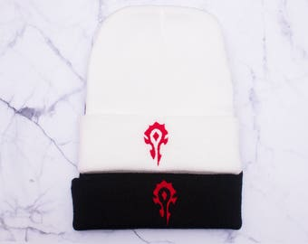 World of Warcraft -For the Horde Beanie