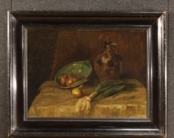 Dutch still life painting signed by Jan Kagie