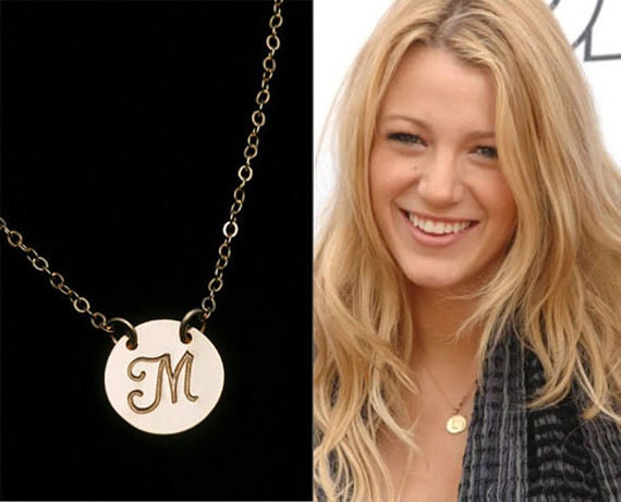 Items similar to personalized necklaceinitial charmcelebrity style items similar to personalized necklaceinitial charmcelebrity style necklacecelebrity initial necklacebridesmaid giftswedding bridal jewelry on etsy aloadofball Image collections