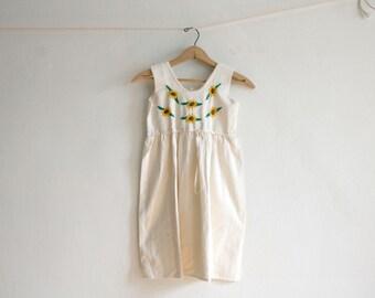 Ivory Sunflower Dress 6