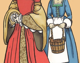 MA007 - The Tudor Lady's Wardrobe Sewing Pattern by Margo Anderson