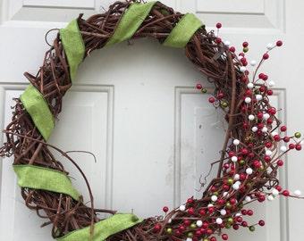 Christmas Twig Wreath