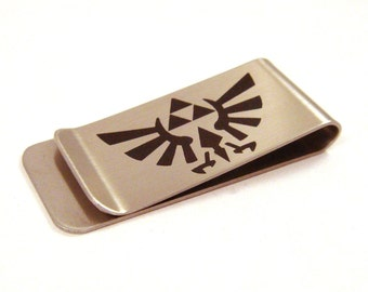 Tri Force Stainless Steel Triforce Money Clip