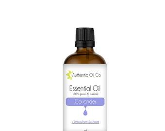 Coriander Essential Oil 100% Pure 10ml 50ml 100ml