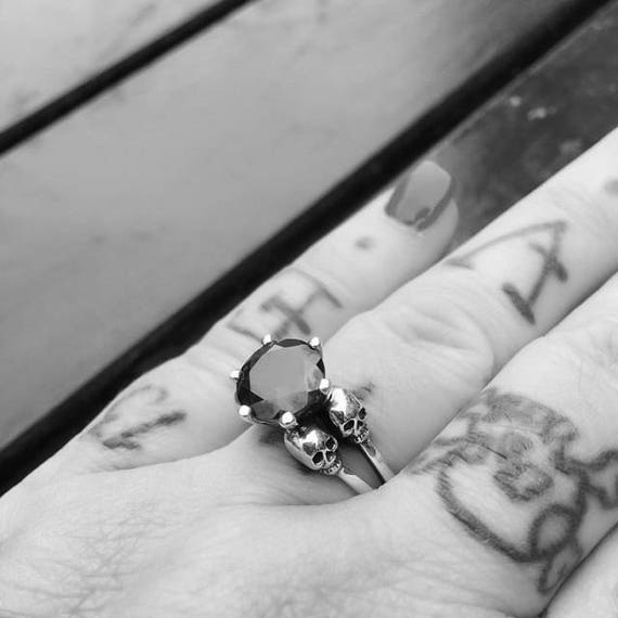 diamond black ring and wedding ideas art evfizry on engagement deco of pinterest best about rings onyx photos stone