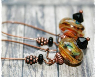-Pierced earrings - gold - summer Collection-