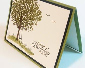 Birthday Card, Handmade Birthday Card, Stampin Up Birthday Card, Birthday Greeting Card, Handmade Card