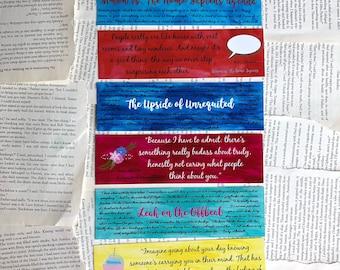 Becky Albertalli Bookmarks