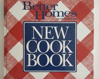 Better Homes and Gardens New Cookbook ~ Hardbound