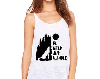 Be wild and wonder