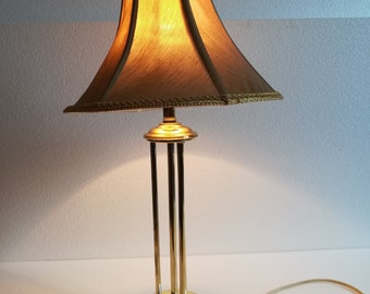 Art deco lamp etsy art deco table bras european lamp mid century lamp excellent vintage condition maximally polished 194050s aloadofball Images