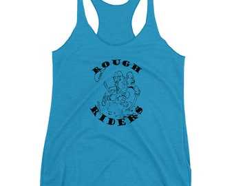 Teddy Roosevelt American History Rough Riders Tank
