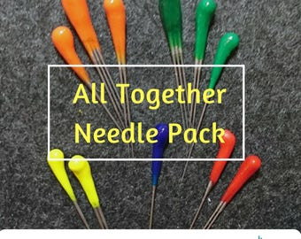 All Together Felting Needle Pack (36T-40T-38S-43T and Reverse)