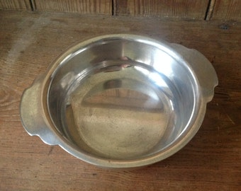Silver plated wiskemann platter