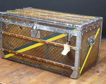 1890 Louis Vuitton Damier in Complete Original Conditions with Key