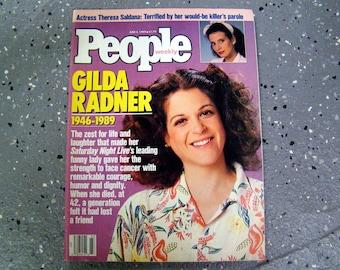 Gilda Radner - People Magazine  - June 1989