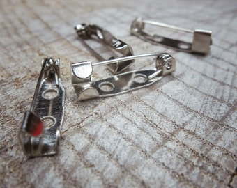 Brooch Bar Back Attachment ~4 pieces #100902