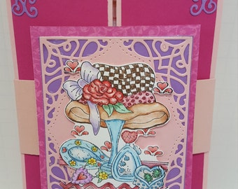 Any occasion gate fold greeting card