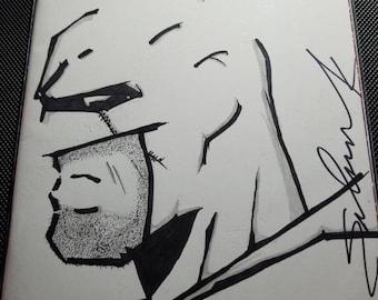 Batman & Robin Eternal (Batman Sketch)