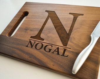 Personalized Cutting Board, Custom Cutting Board, Engraved, Personalized Wedding Gift, Housewarming Gift, Anniversary Gift, Christmas Gift