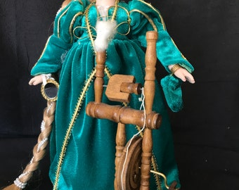 Rapunzel Storybook Doll