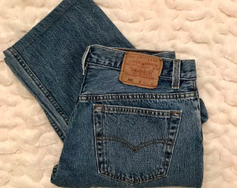 Vintage High Waisted Levi's 501 Denim