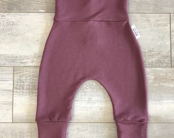 Pants bamboo french Terry Rose Brown, a bit thicker and warmer