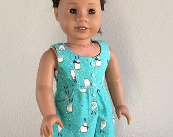 """Surfrider Romper for 18"""" Doll"""