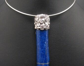 Lapis Goddess Pendant