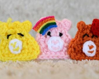 Care Bear Crochet Headband