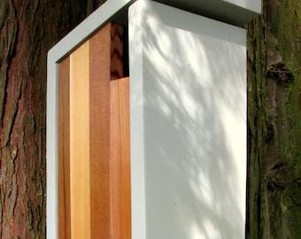 Birdhouse, Modern Minimalist- The Flying Dutchman