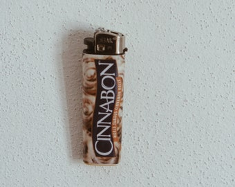 Cinnabon cinnamon roll Stoner sticker for lighter, 420, weed, hungry