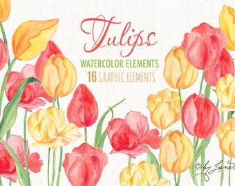 tulips - digital image -  for photography, personal use and small business project