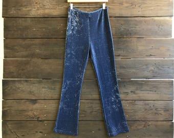 Vintage 90s Lurex Disco Pants